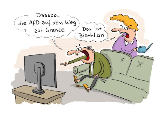 SPAM Cartoon/ AfD